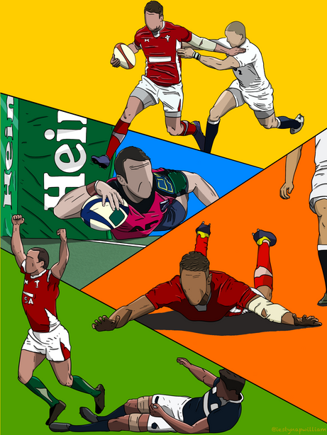 Welsh Rugby compilation commission piece