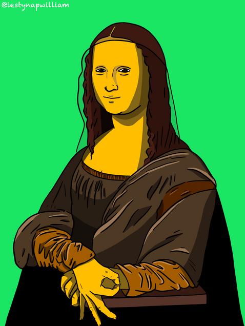 Mona 'Gotcha' Lisa