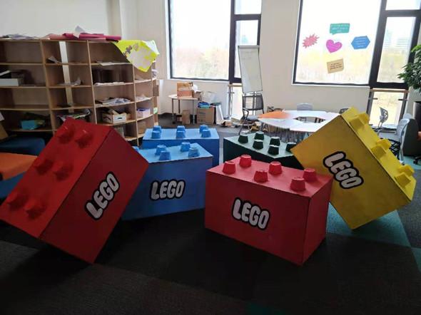 Large scale Lego blocks