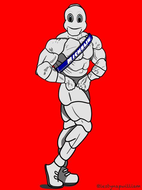 Masculine Michelin Man