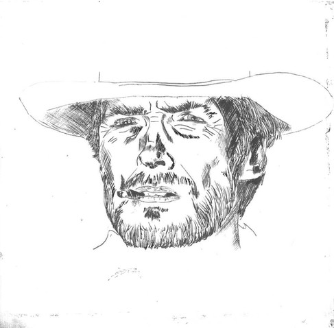 Clint Eastwood in 'A Fistful of dollars'