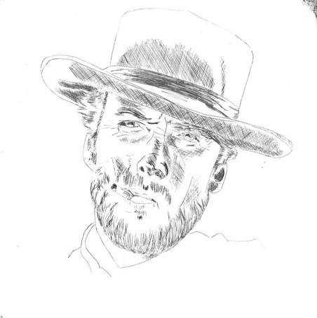 Clint Eastwood in 'For a few dollars more'