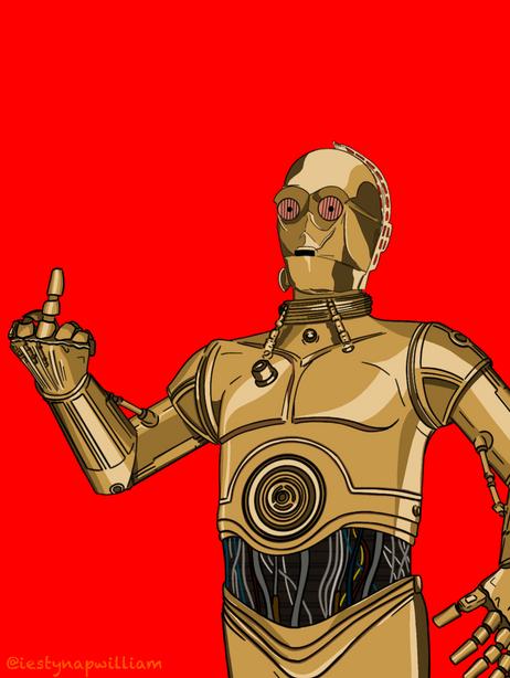 Upset C-3PO