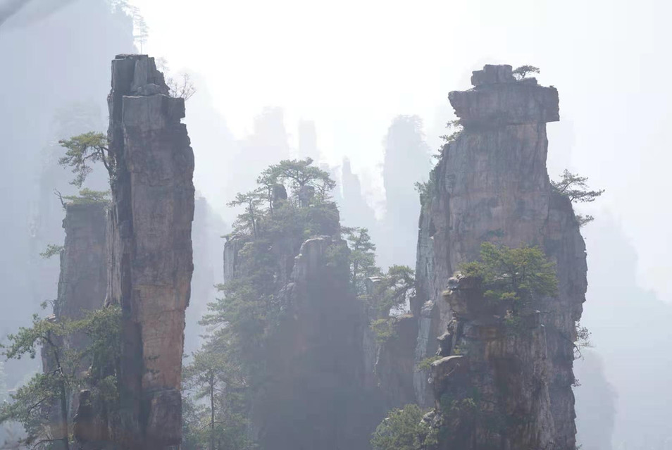 The Avatar Mountains, Zhangjiajie, Hunan, China