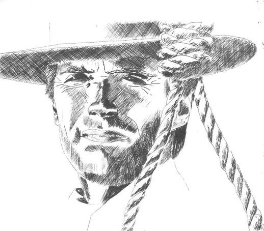 Clint Eastwood in 'Hang 'em high'