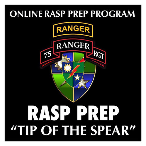 RASP, Ranger Assessment, Army Ranger, Rangers Lead The way, 75th ranger regiment