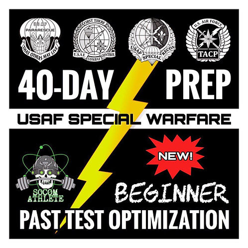 Beginner: PJ/CCT/TACP/SR 40-Day Prep Program