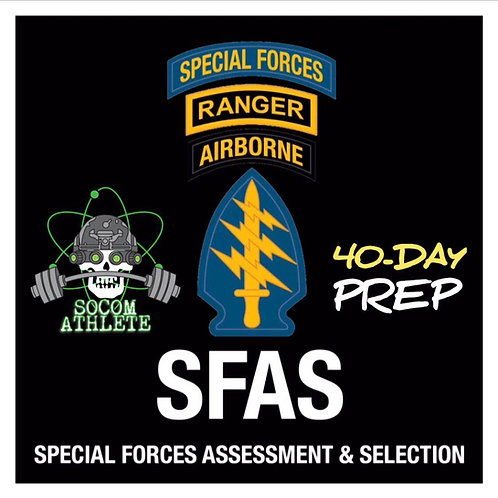 Elite 40-Day Prep: Special Forces Assessment & Selection