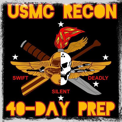 Basic: USMC Recon 40-Day BRT Prep Program