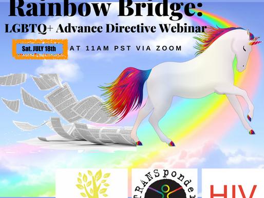 Free workshop for Oregon LGBTQIA+ folks
