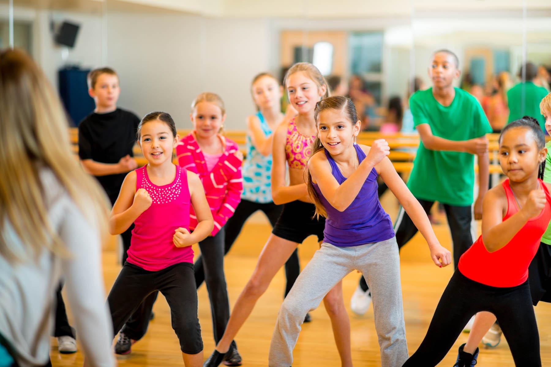 kids' dance class