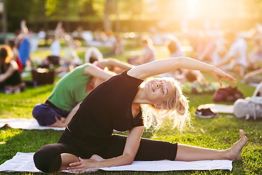 yoga and fitness for events, London and UK
