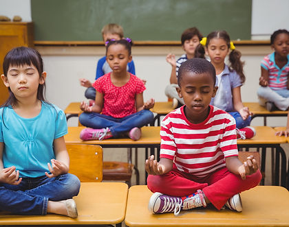 Children's mindfulness classes, clubs and workshops for schools, London and UK