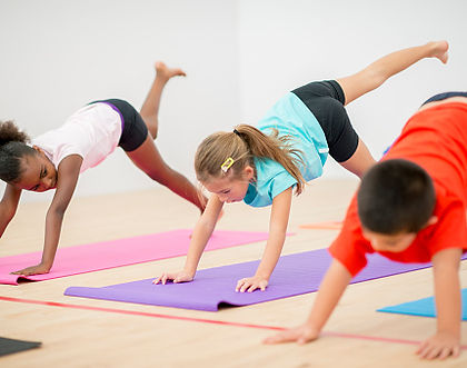 Children's yoga classes, clubs and workshops for schools, London and UK
