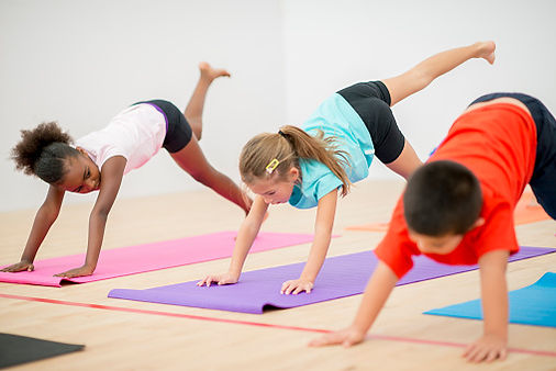 private group and individual children's yoga classes and mindfulness lessons