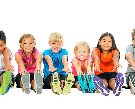 Children's BuzzFit kids' fitness classes, clubs and workshops for schools, London and UK
