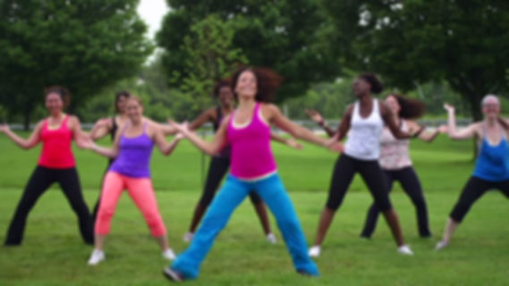 Private group and individual outdoor Zumba ftness clases, London