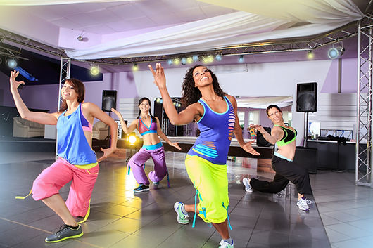 Interactiv Zumba and dance entertainment