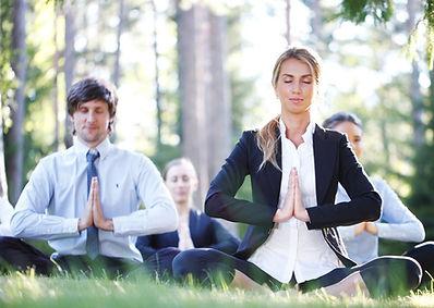 corporate yoga, pilates & meditation classes