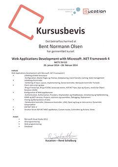 Kursusbevis i Microsoft .NET v4