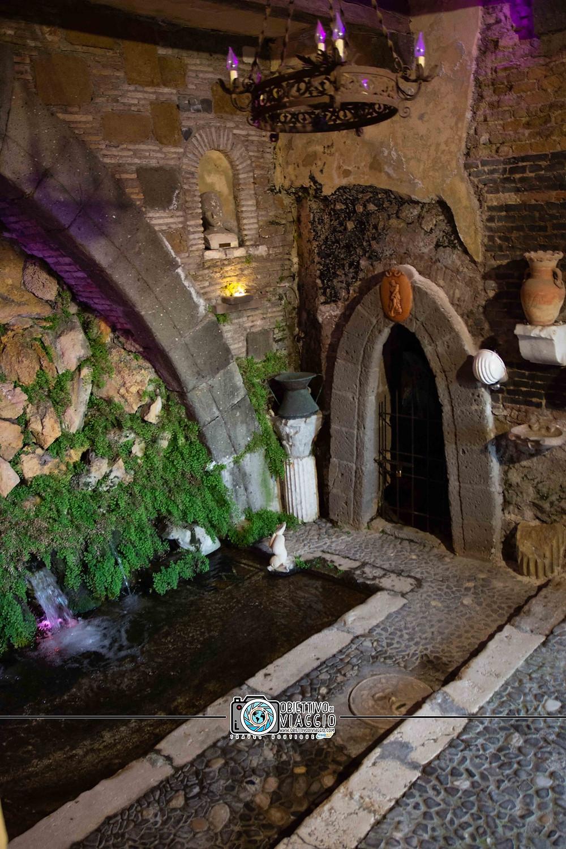 La Fontana Vecchia, nelle mura del borgo