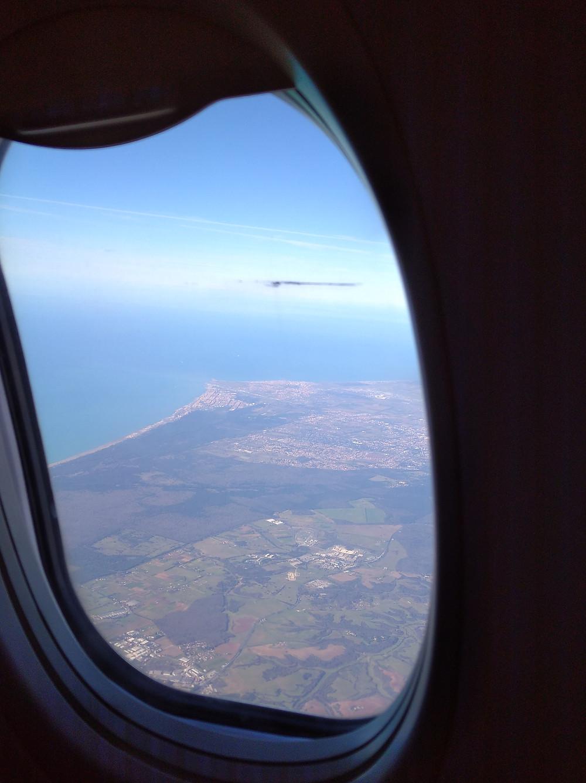 Quando sei in volo, ma non vedi l'ora di scendere