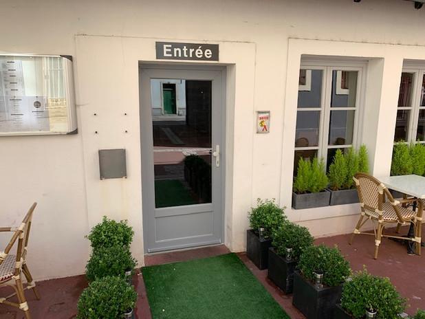 Porte d'entrée pour le Patio à épinal
