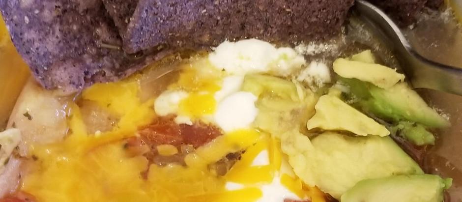 Warming Instant Pot Chicken Tortilla Soup