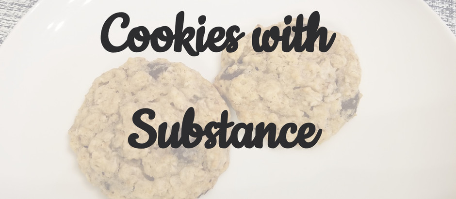 Cookies with Substance
