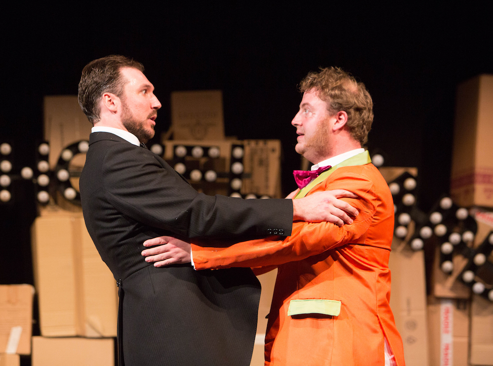 Mark Bonney & Ben Watkins in 'Cendrillon