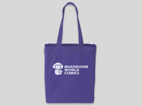 MUSHROOM WORLD COMICS TOTE BAG!