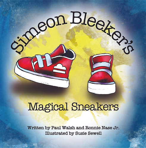 Hardcover Copy of Simeon Bleeker's Magical Sneakers