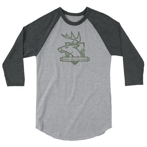 SKG Logo 3/4 Tshirt