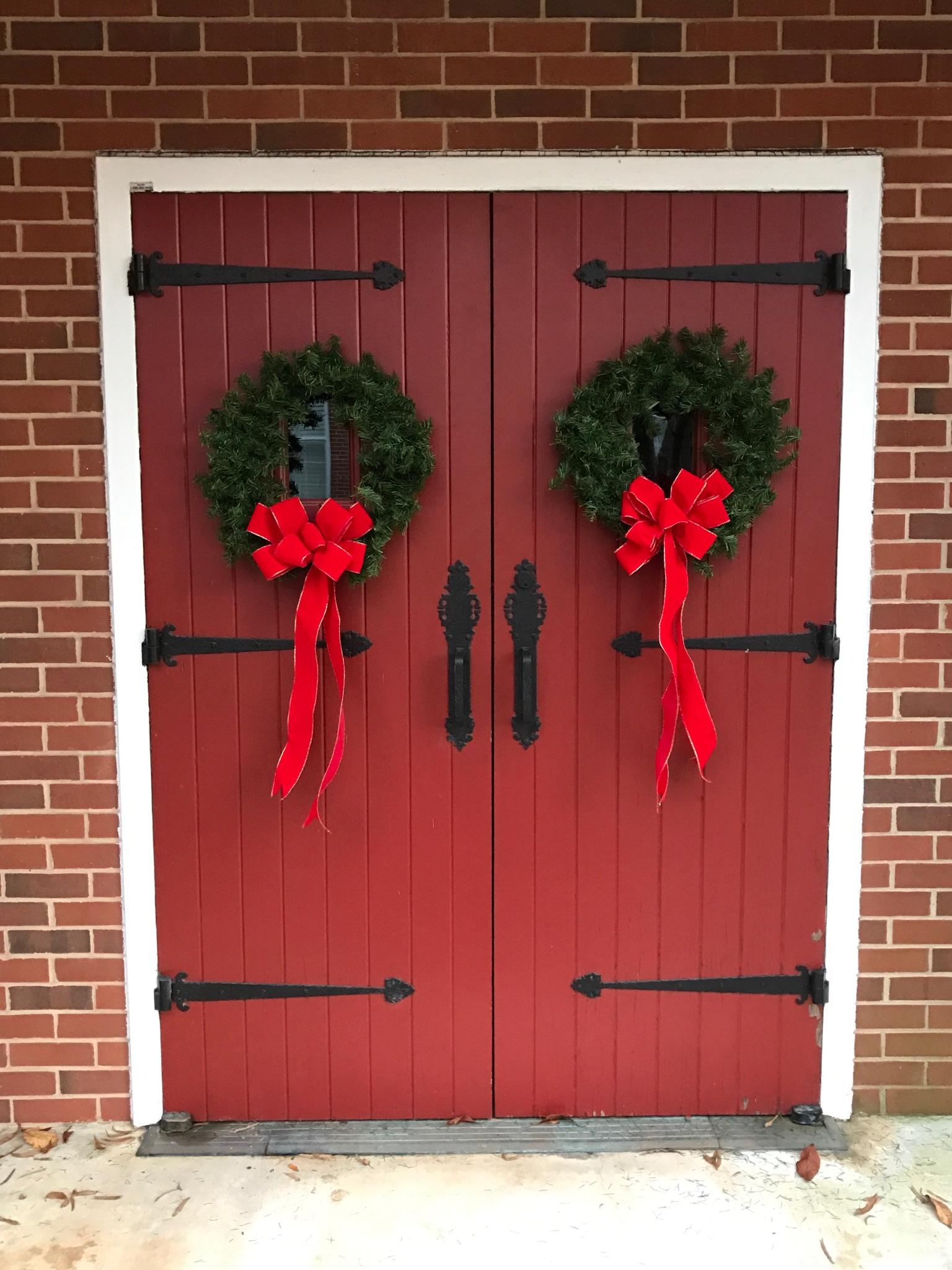 Christmas bows!
