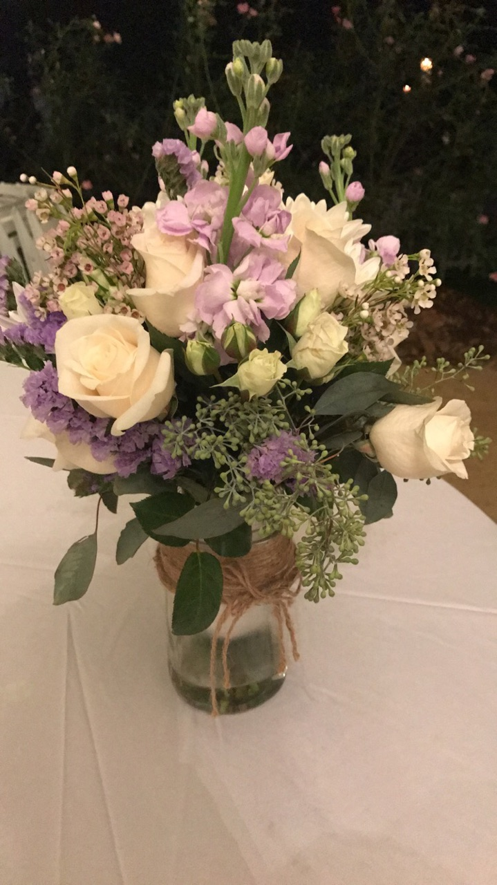 Bouquet at the end of the night
