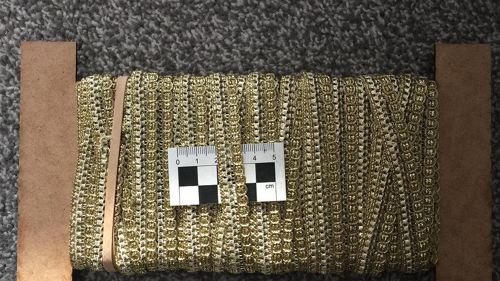 Platinum Gold Braid Trim