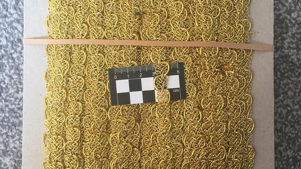Gold Loop Braid Trim