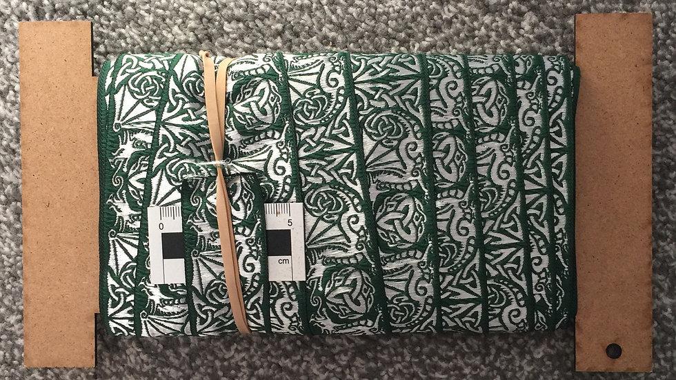 Green & Silver Dragon Trim