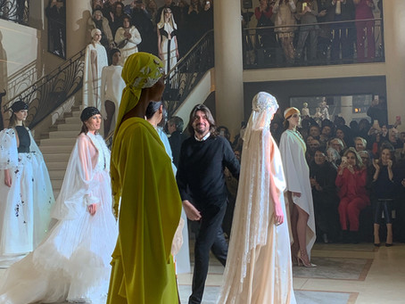 Our favourite moments from the Paris Haute Couture Fashion Week