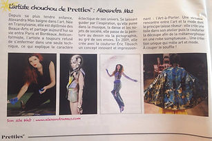 jurnal article, pretties magazine