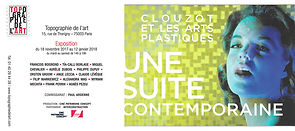 bilboard about clouzot group show in paris , VR experience by alexandra mas