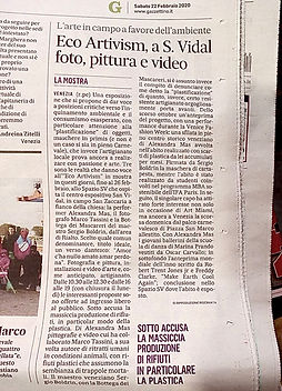 press, il gazzettino, venezia, article, alexandra mas