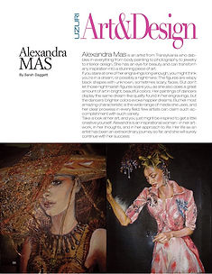 uzuri magazine article alexandra mas