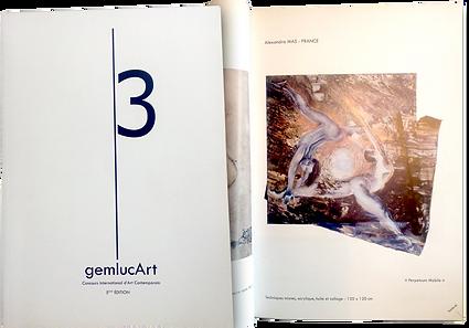monaco catalog with painting by alexandra mas