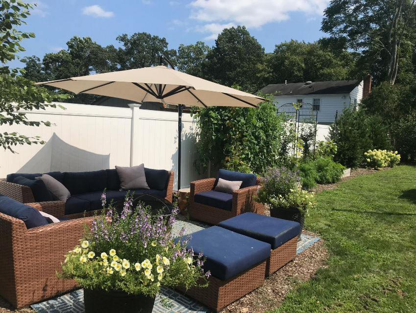 Carol-Lang-Interiors_Fair-Haven-New-Jersey_How-to-Design-a-Safe-Social-and-Serene-Outdoor-Living-Space_Firepit-Near-Outdoor-Seating-Area
