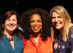 Was that okay Oprah?