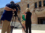 7news shoot at UQ 1.JPG