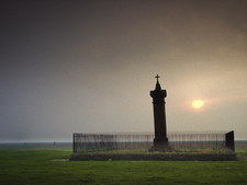Edward I Memorial, Burgh by Sands, Solway Firth, Cumbria