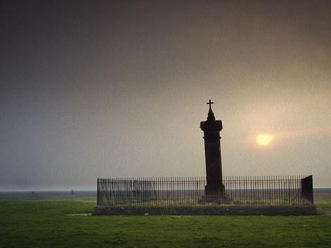 Edward I Memorial, Burgh by Sands, Solway Firth, Cumbria