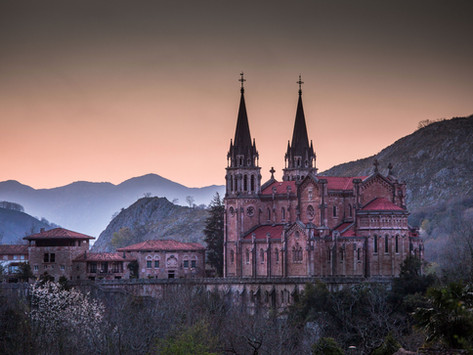 The Basilica of Our Lady of Covadonga, Spain